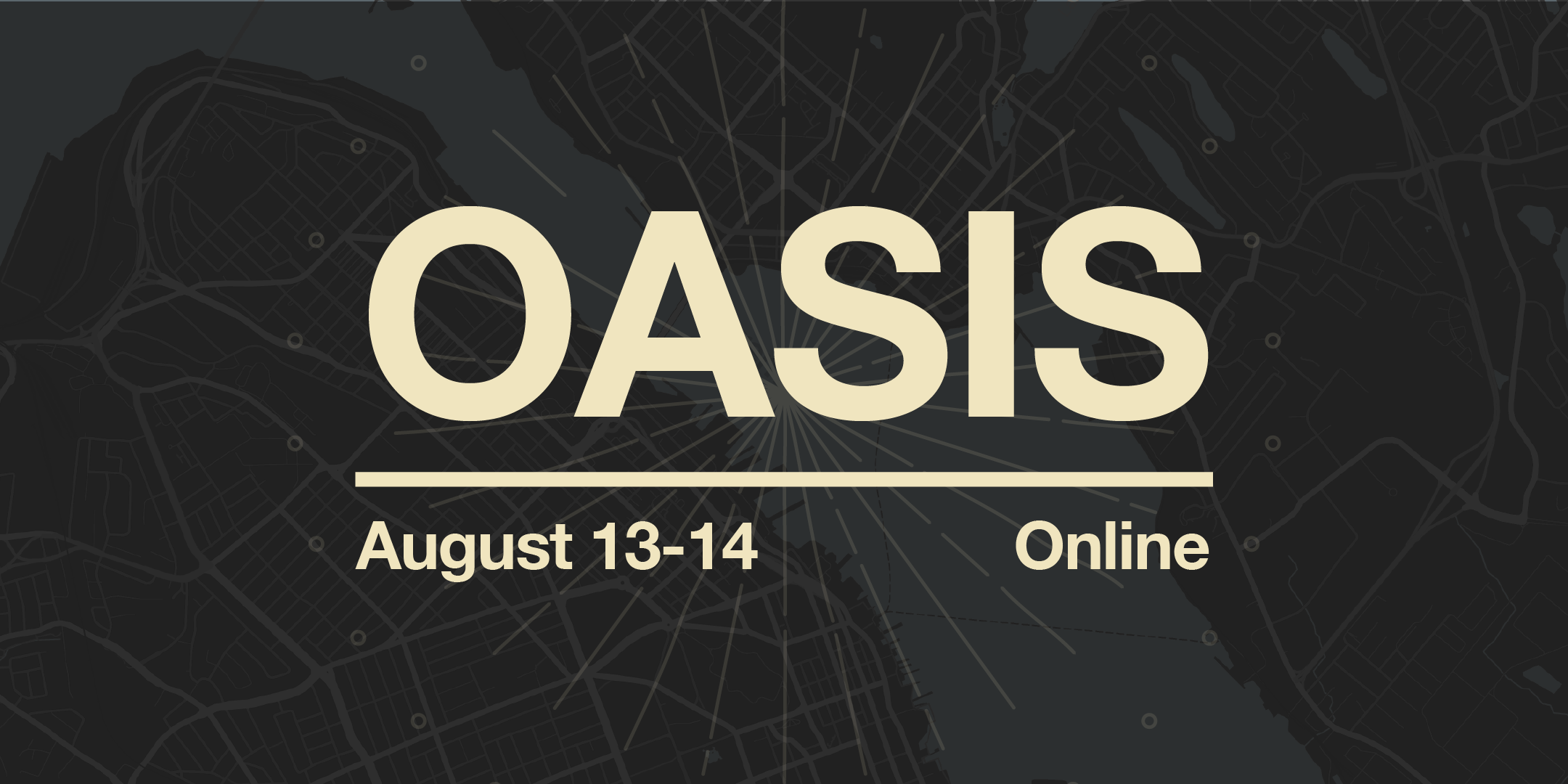 Oasis 2021: Click this image to register
